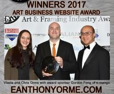EANTHONYORME.COM AWARD WINNING WEBSITE