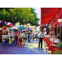 Artists at Montmartre, Paris