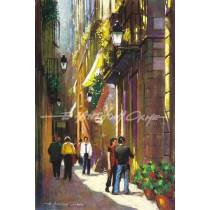 Back Street, Barcelona