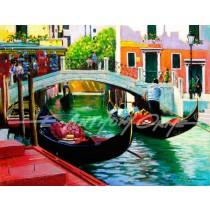 Bridge over Venetian Backwater