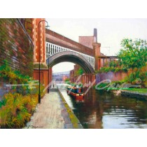 Heading Home, Bridgewater Canal, Manchester