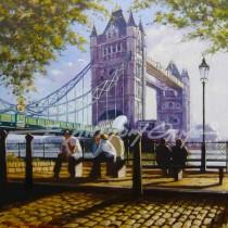 Long Shadows, Tower Bridge, London