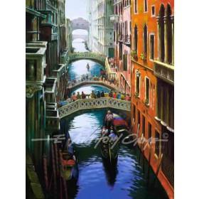 On The Rio Della Canonica, Venice