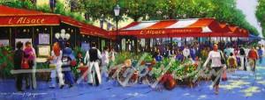A Stroll Along The Champs Elysees, Paris